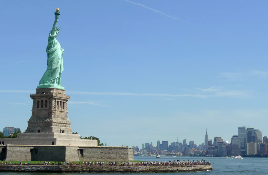 the statue of liberty was built to welcome immigrants; that welcome must not end. - The Guardian, July 4, 2016Read more.