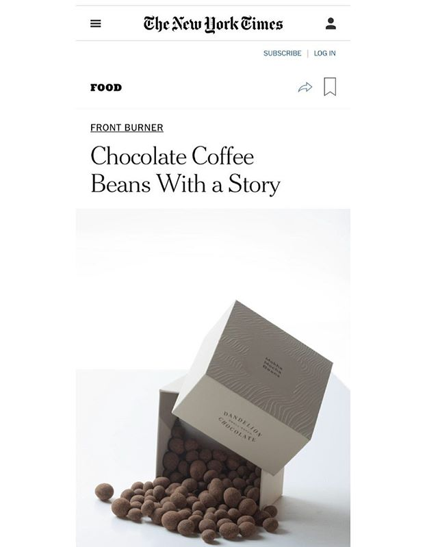 Have you tried the amazing collision of @portofmokha #coffee beans and @dandelionchocolate ? @nytfood recommends this treat paired with THE MONK OF MOKHA as reading accompaniment. #coffeebeans #thirdwavecoffee #chocolate #sanfrancisco #yemen #mokha #portofmokha #books #author #nonfiction #mokhtaralkhanshali