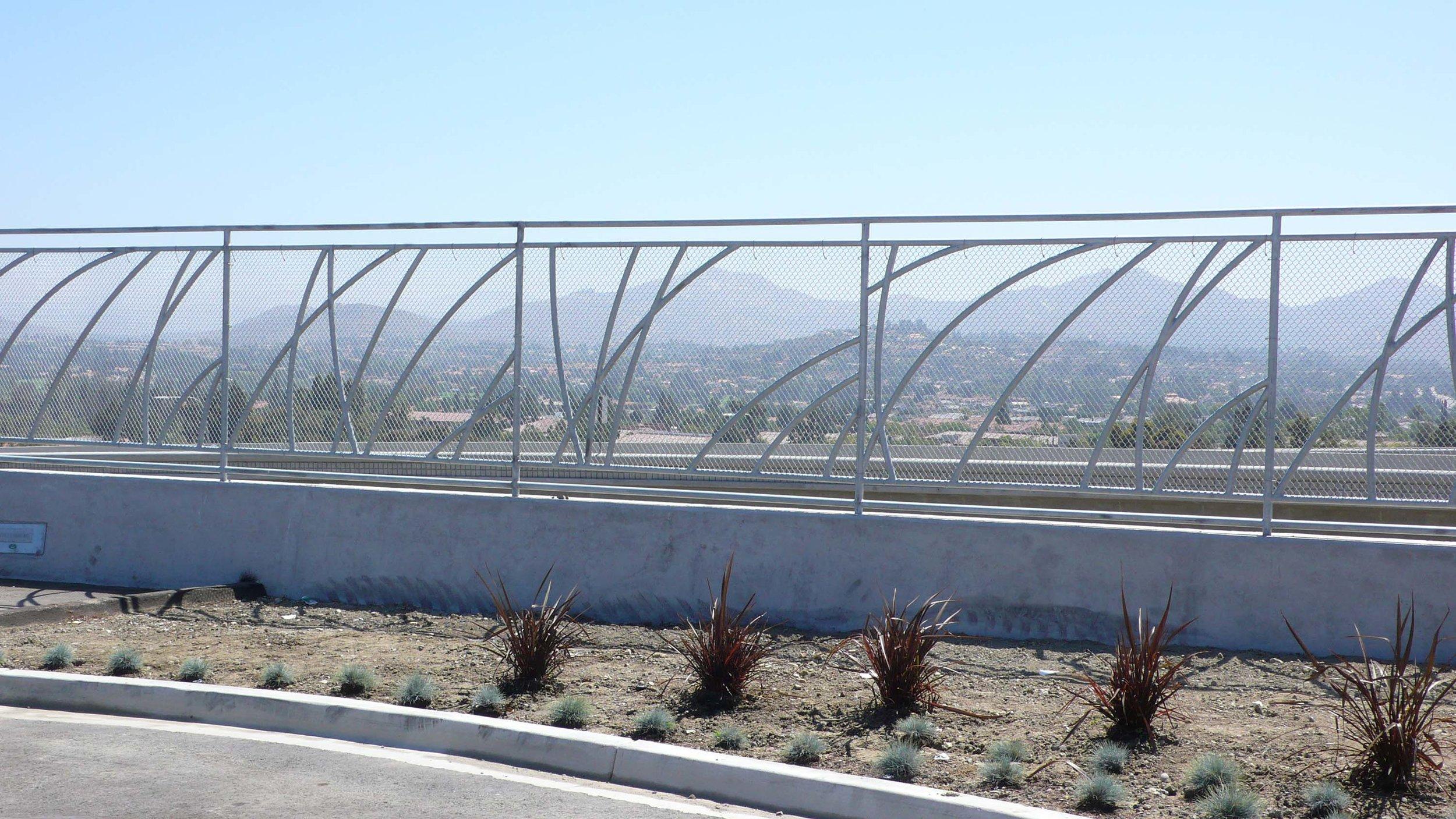 Perimeter Fence - Rancho Bernardo Bus Rapid Transit Station