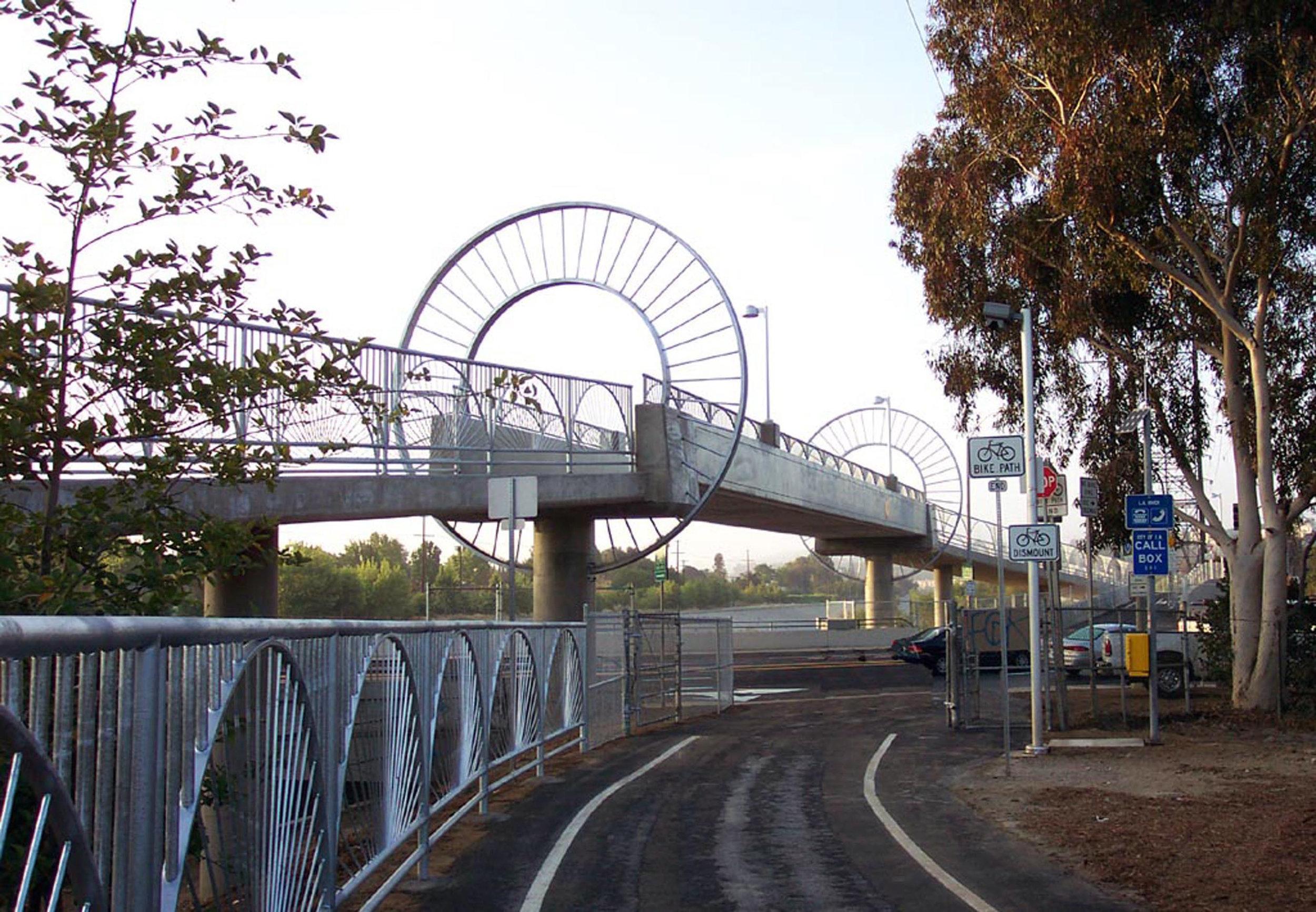 Alex Baum Bike Bridge - Los Angeles Department of Transportation and Bureau of Engineering