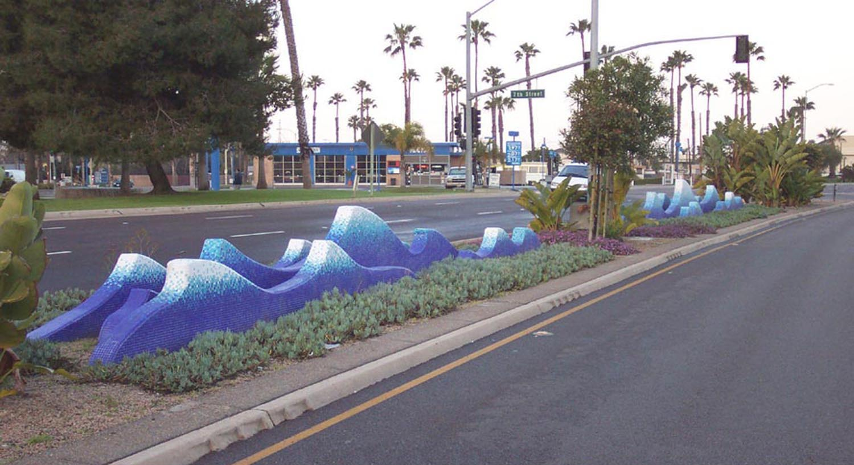 Blue Wave - Palm Avenue Median Beautification Project