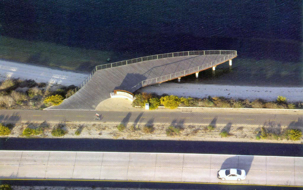Least Tern Wing Pier Silver Strand Beautification Project