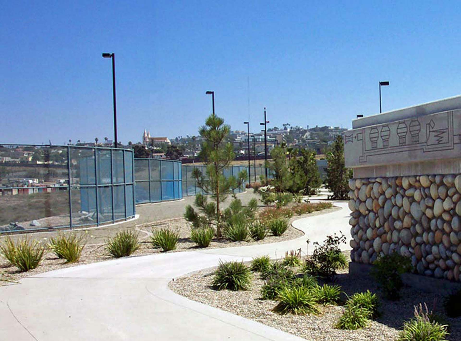 Perimeter Fence - South Bay Water Reclamation Plant