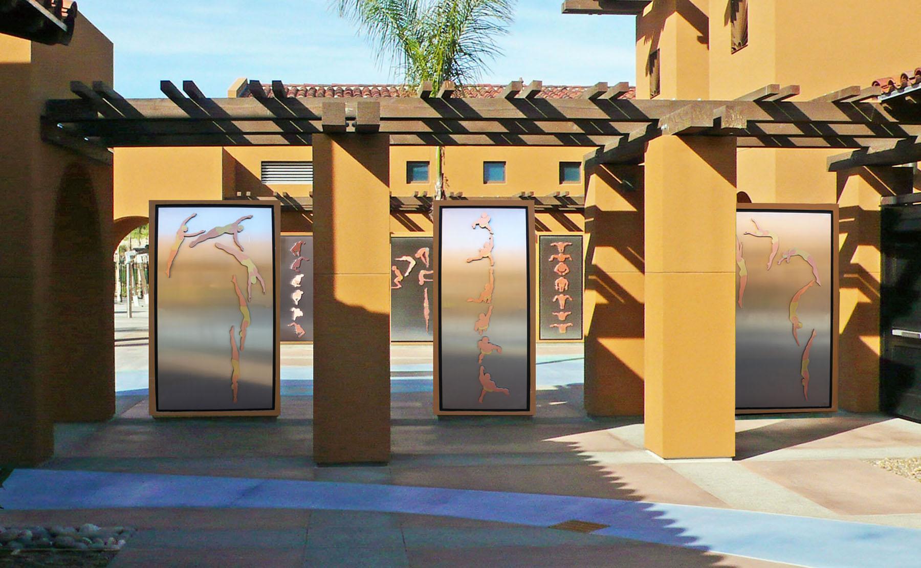 Swim and Dive Panels - Alga Norte Community Park
