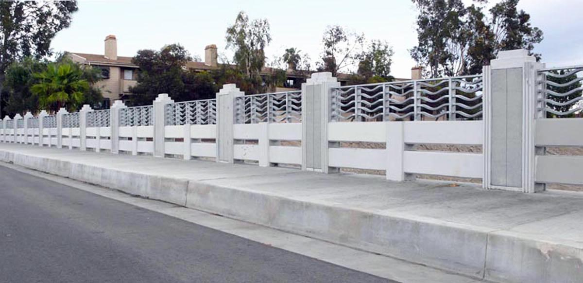 Bridge Railing - Van Nuys Boulevard at the Pacoima Wash