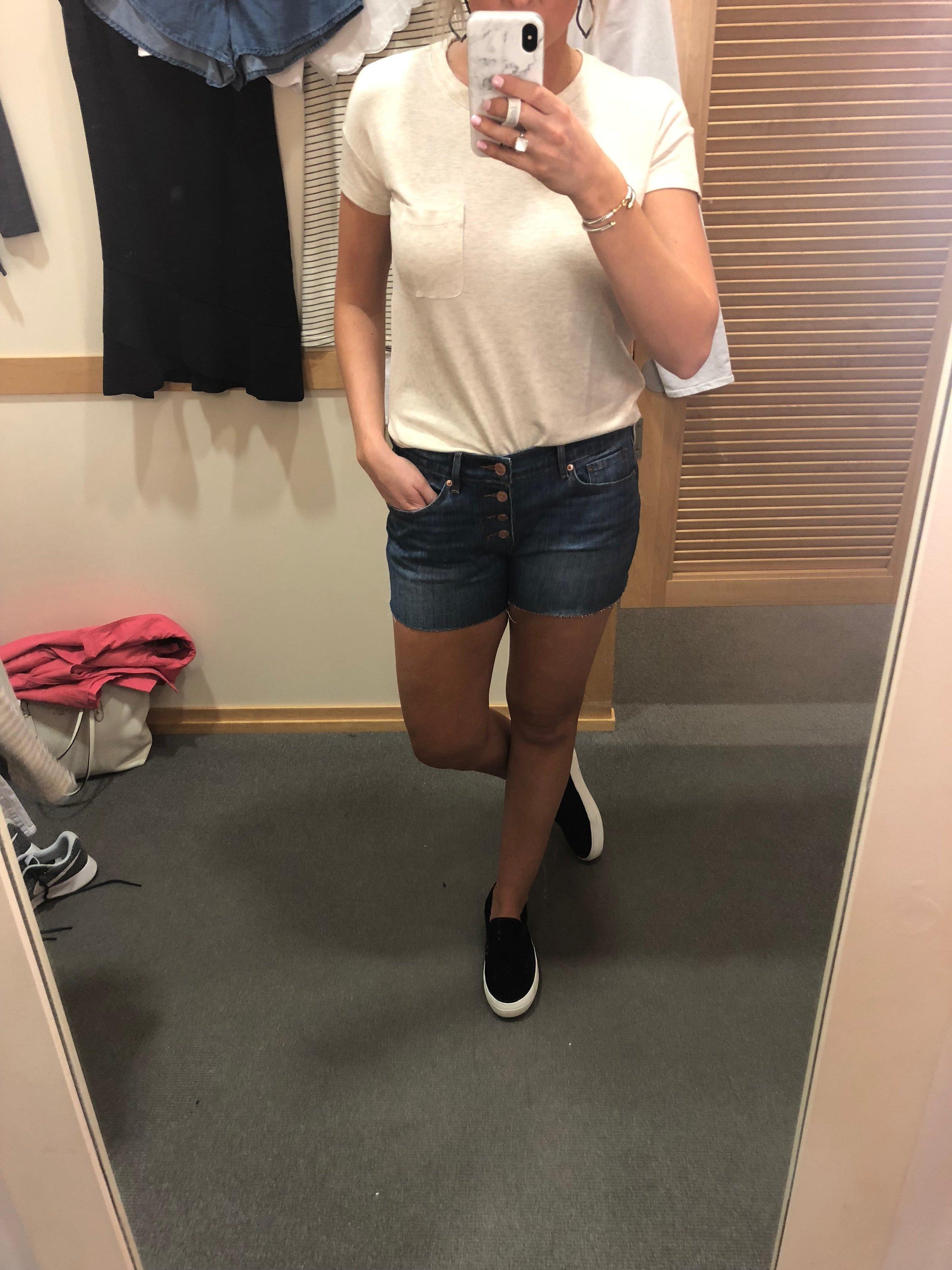 Shorts-M $32 Shirt-XS $30