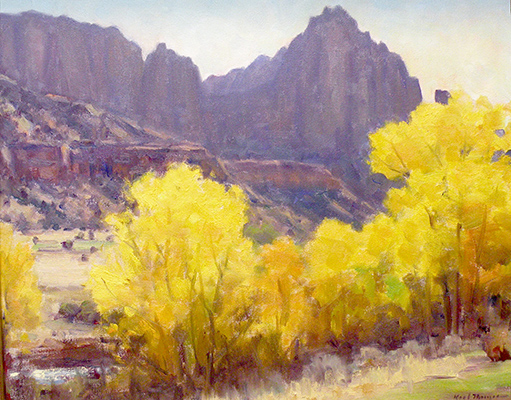 "The Watchman, Zions | 10""x14"" 