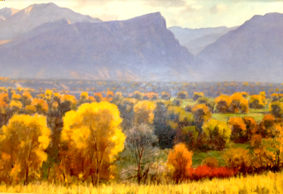 "Rock Canyon | 20""x40"" 