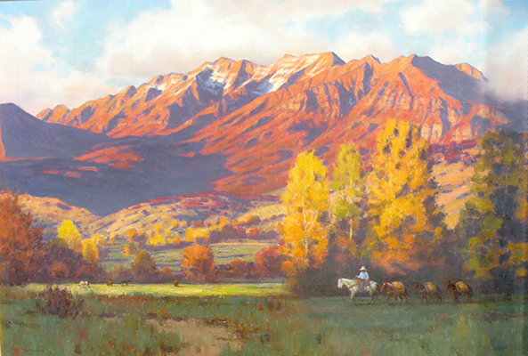 "Timp in Autumn | 36""x48"" 
