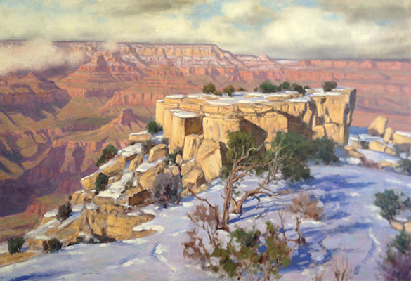 "Grand Canyon Storm | 36""x54"" 