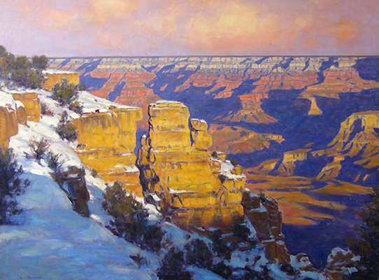 "Winter at Yaki Point | 40""x60"" 