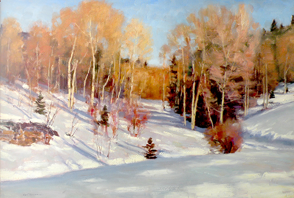 "Winter at Deer Valley | 30""x45"" 