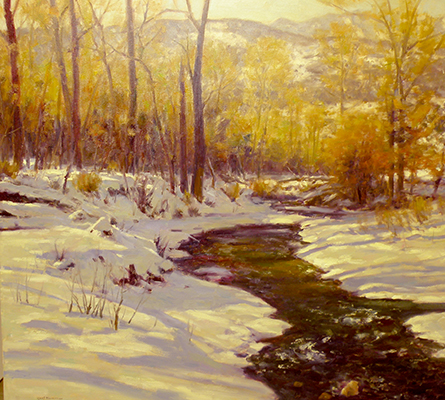 "Winter Colors | 36""x48"" 
