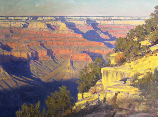 "Grand Canyon Summer | 20""x30"" 