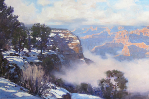 "Grand Canyon Winter | 30""x40"" 
