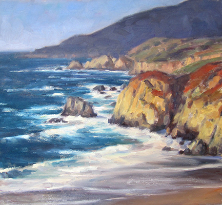 "Carmel Landscape | 18""x20"" 