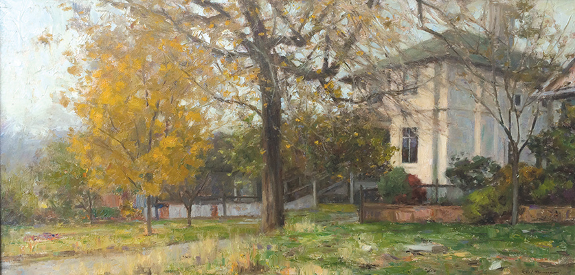 "Fall in the Avenues | 18""x30"" 