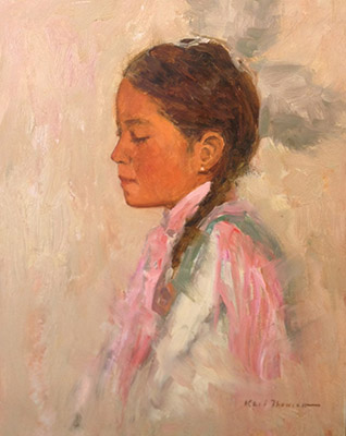 """Indian Girl10""""x8"""" 