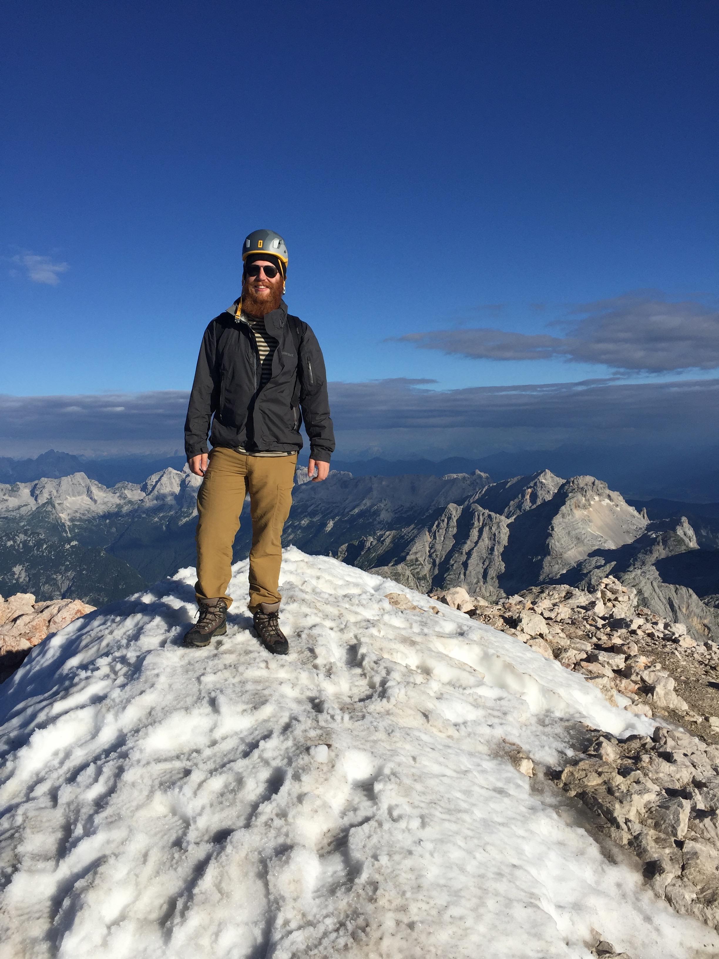 Summit of Mt. Triglav, Slovenia