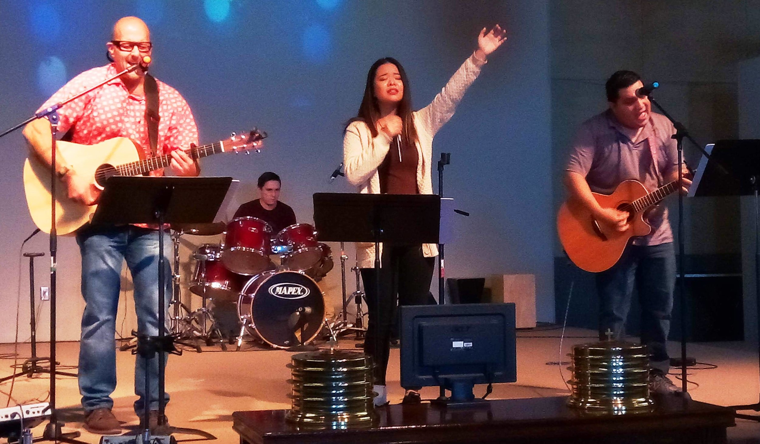 Our Worship Service offers a rich blend of contemporary music, traditional songs and a timeless message. We believe you'll be blessed by what you hear!
