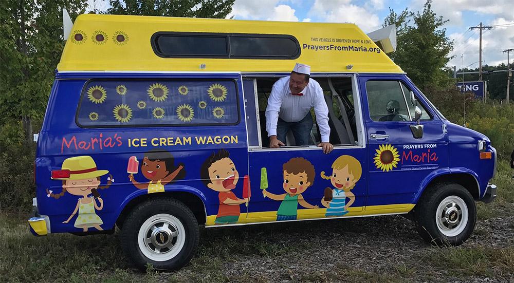 Ice Cream provided by Maria's Ice Cream Wagon