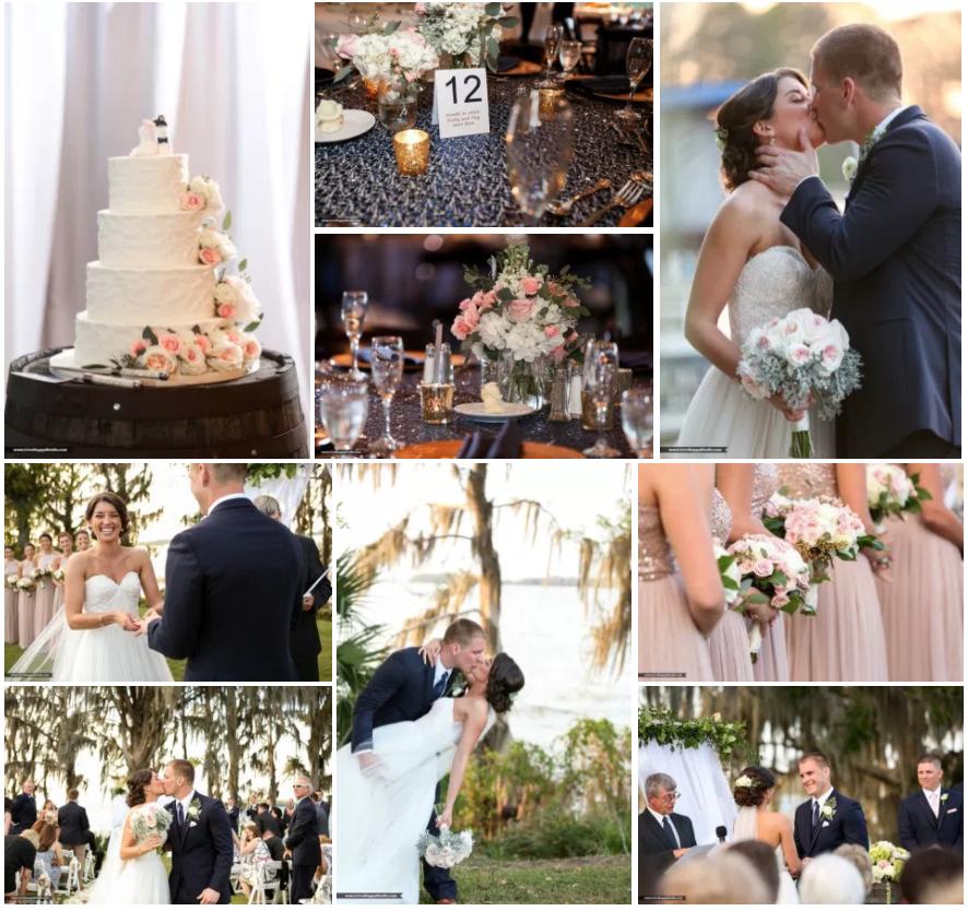 Bluegrass Chic - Mission Inn Marina wedding nautical