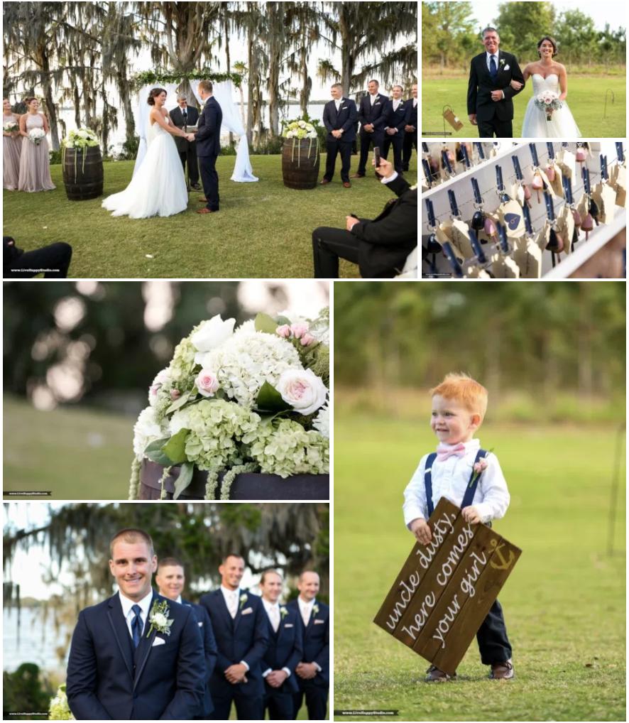 Bluegrass Chic - Mission Inn Marina nautical wedding