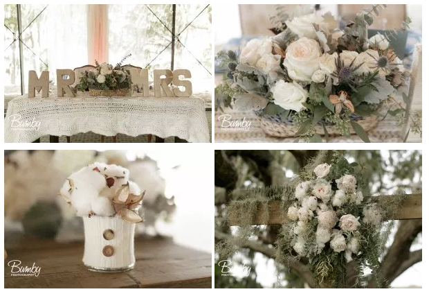 Bluegrass Chic - cotton and soft floral