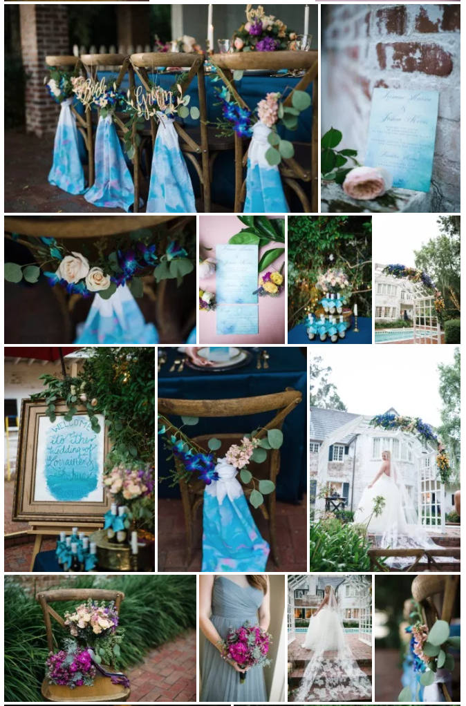 Bluegrass Chic - Watercolor Floral Wedding