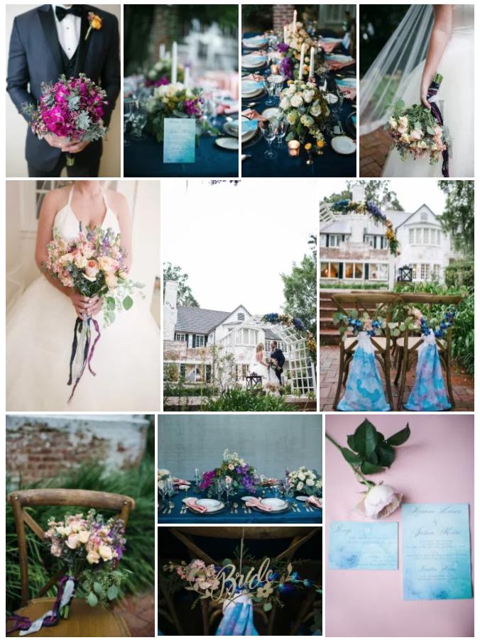 Bluegrass Chic - Watercolor Bouquet