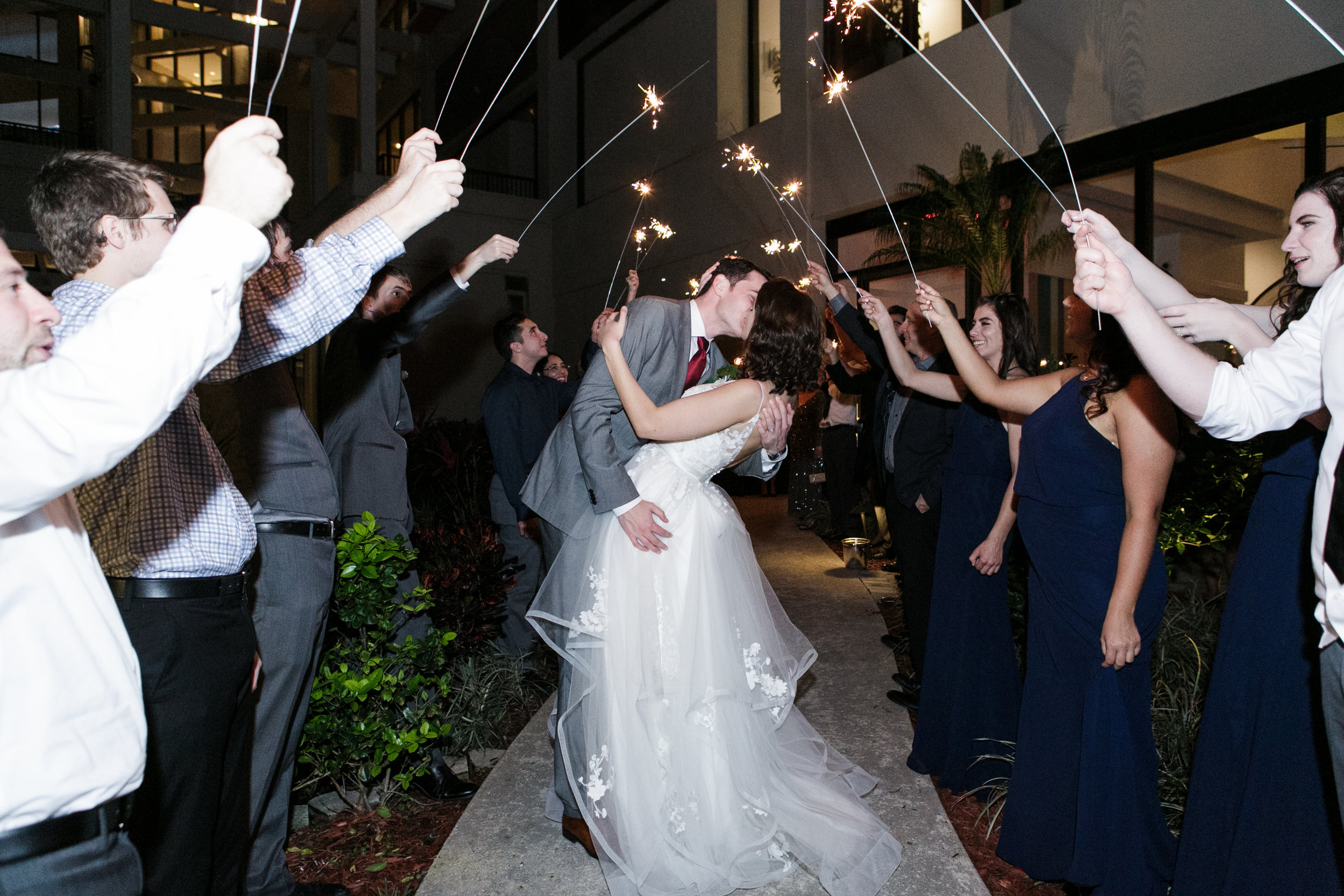 Bluegrass Chic - Bumby Photography - Grand Exit