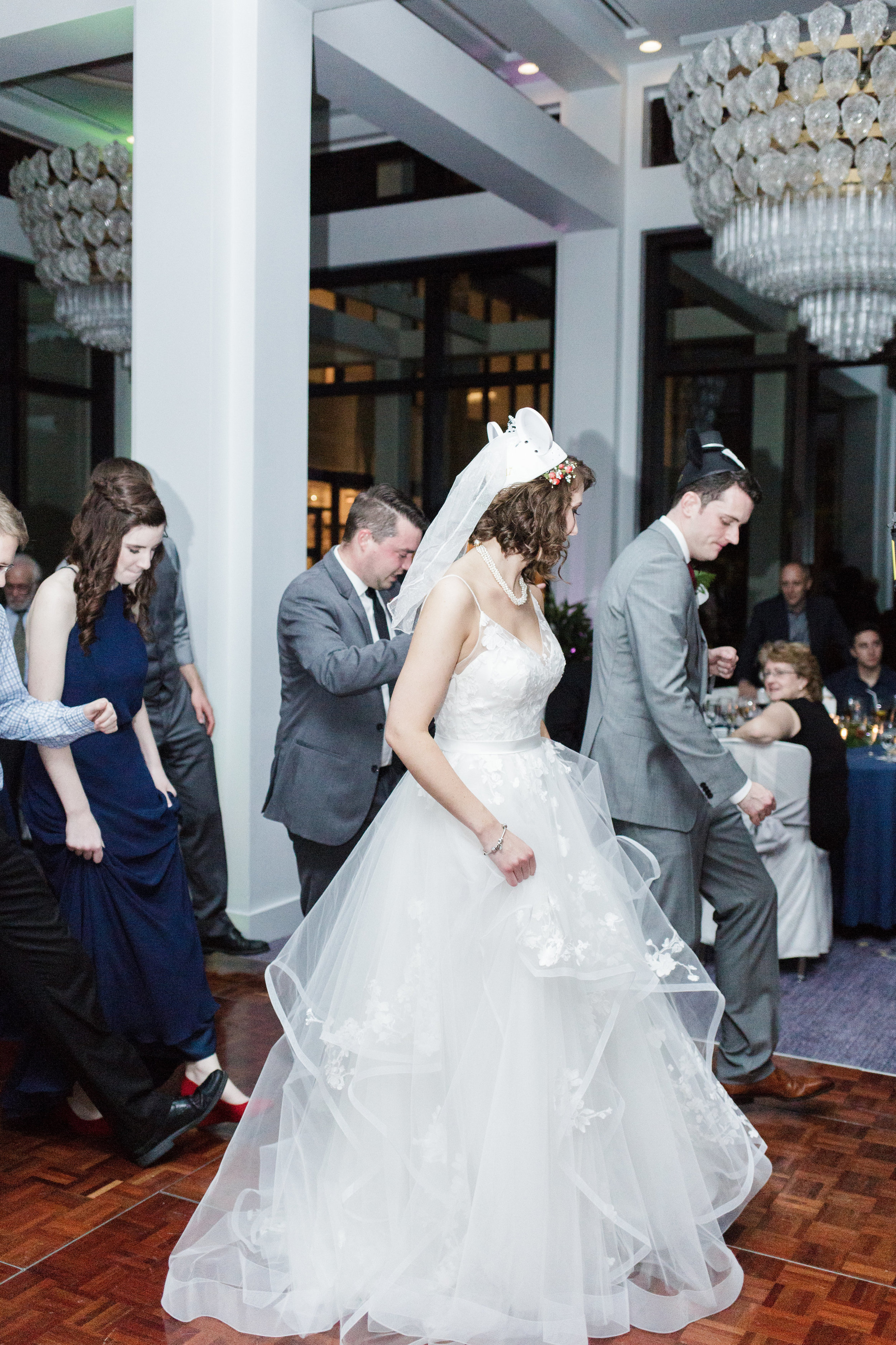 Bluegrass Chic - Minnie Mouse Ears Wedding