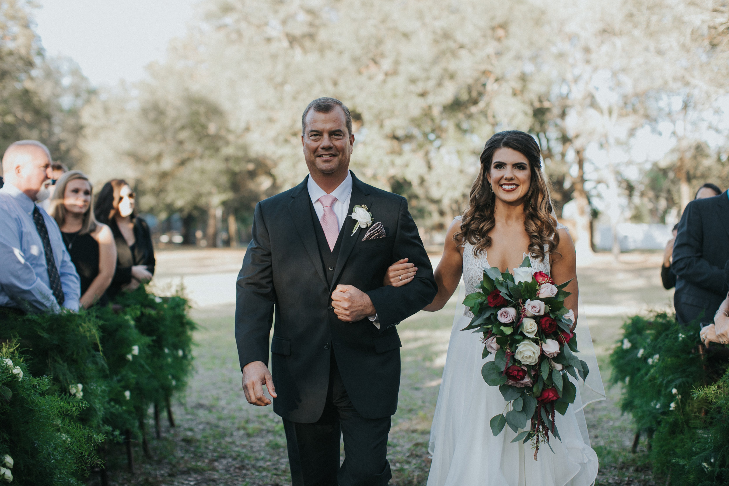 Bluegrass Chic - Father and Bride