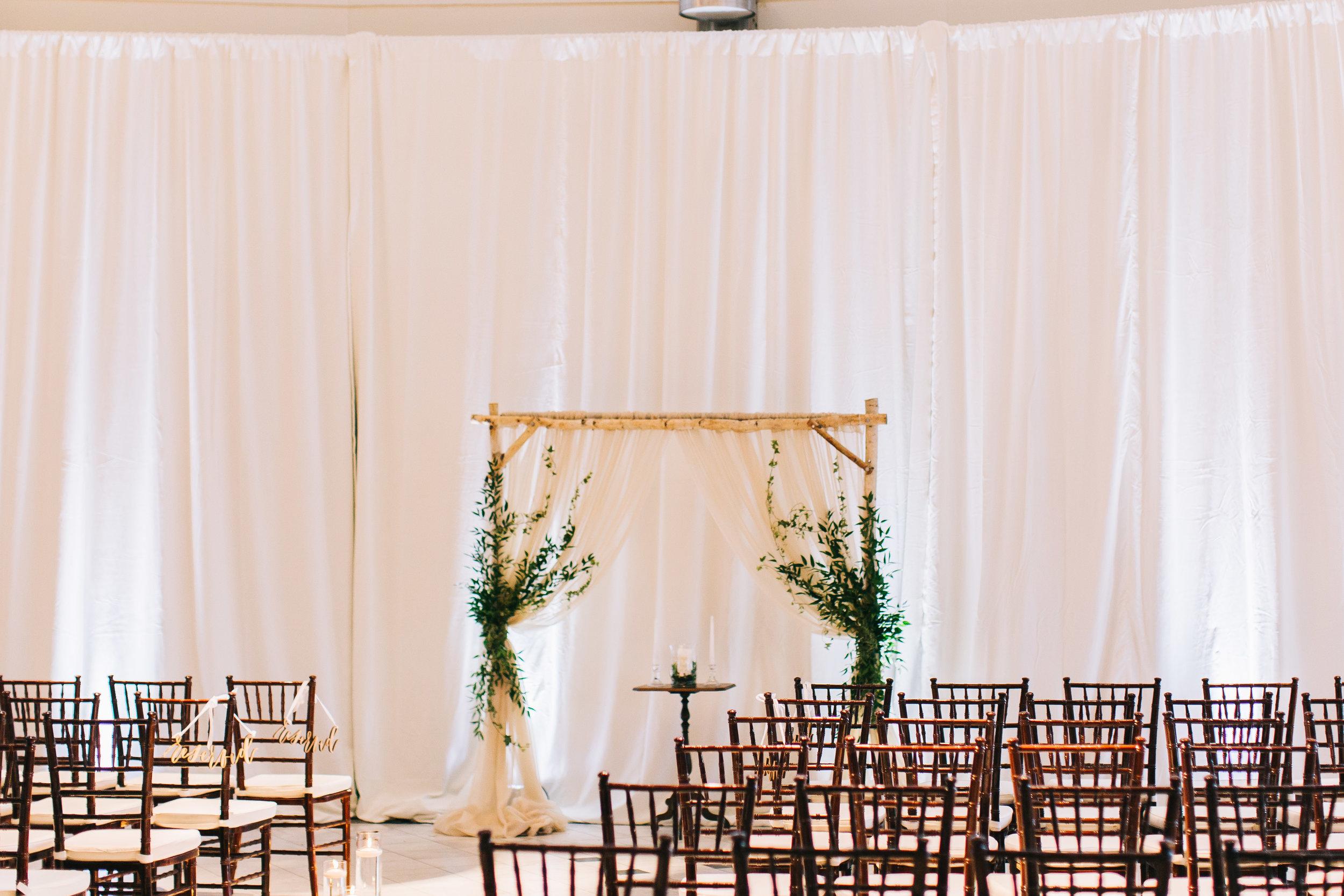Bluegrass Chic - Ceremony Arch Greenery