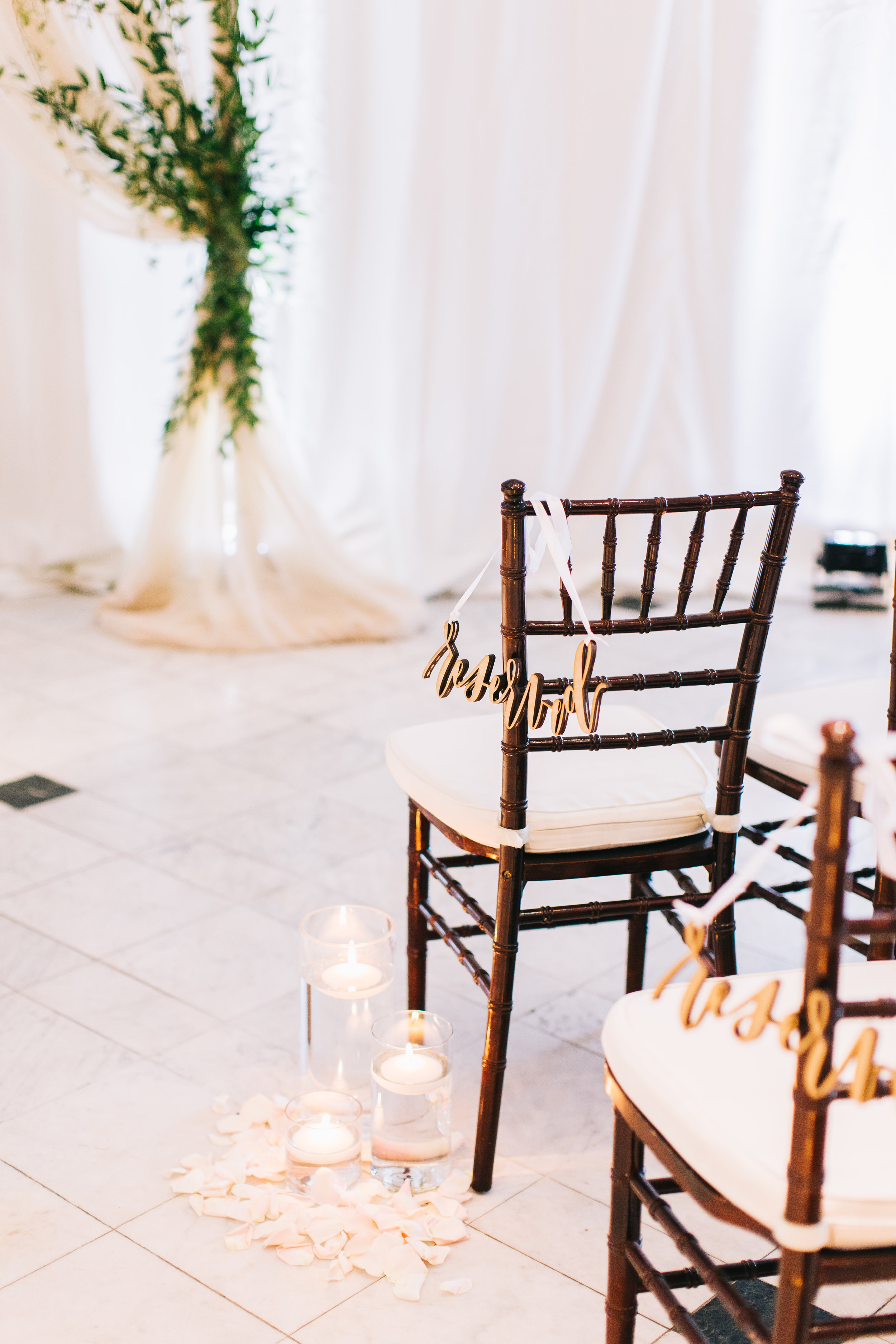 Bluegrass Chic - Ceremony Aisle Markers Candles