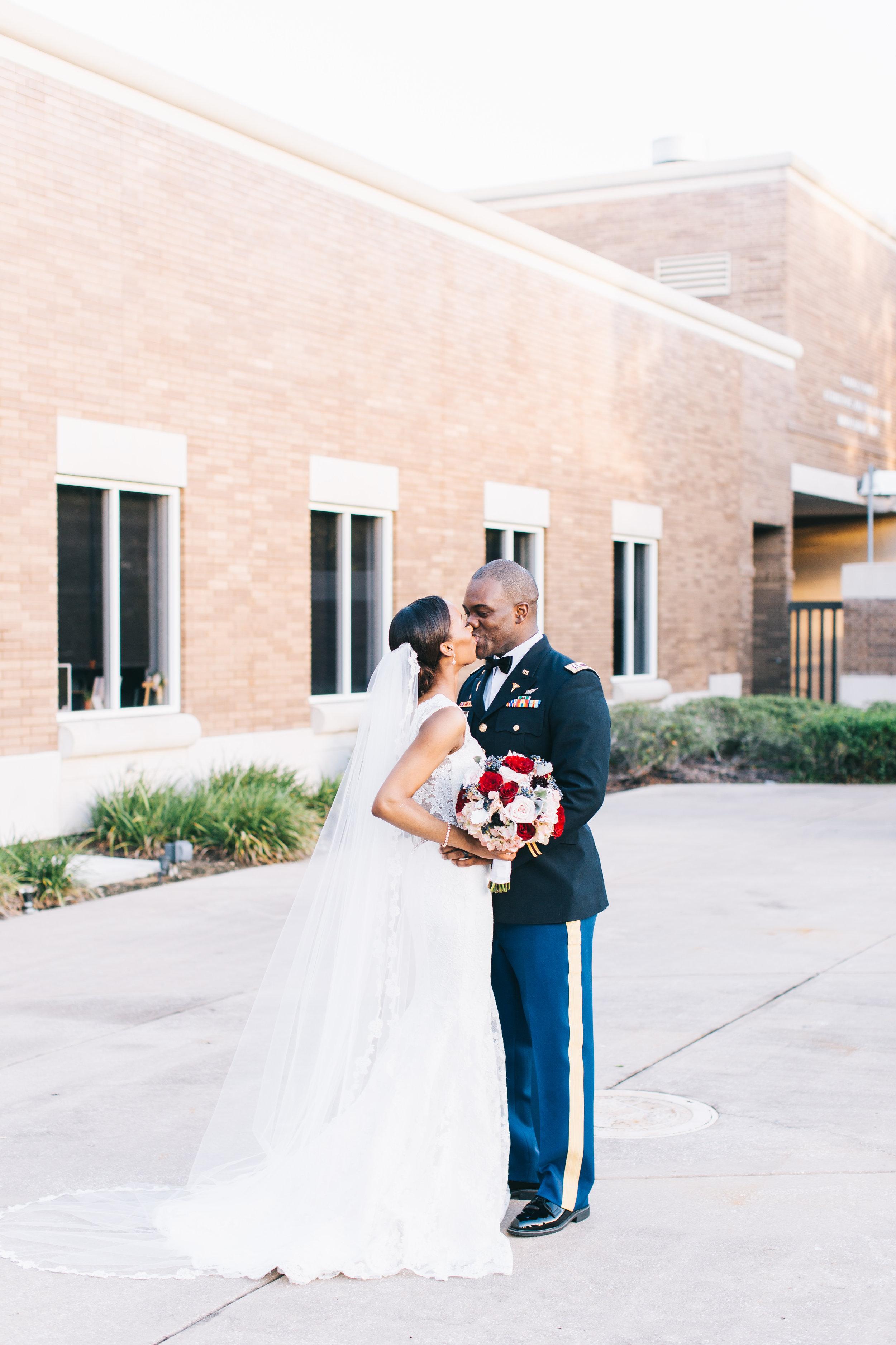 Bluegrass Chic - Military Wedding