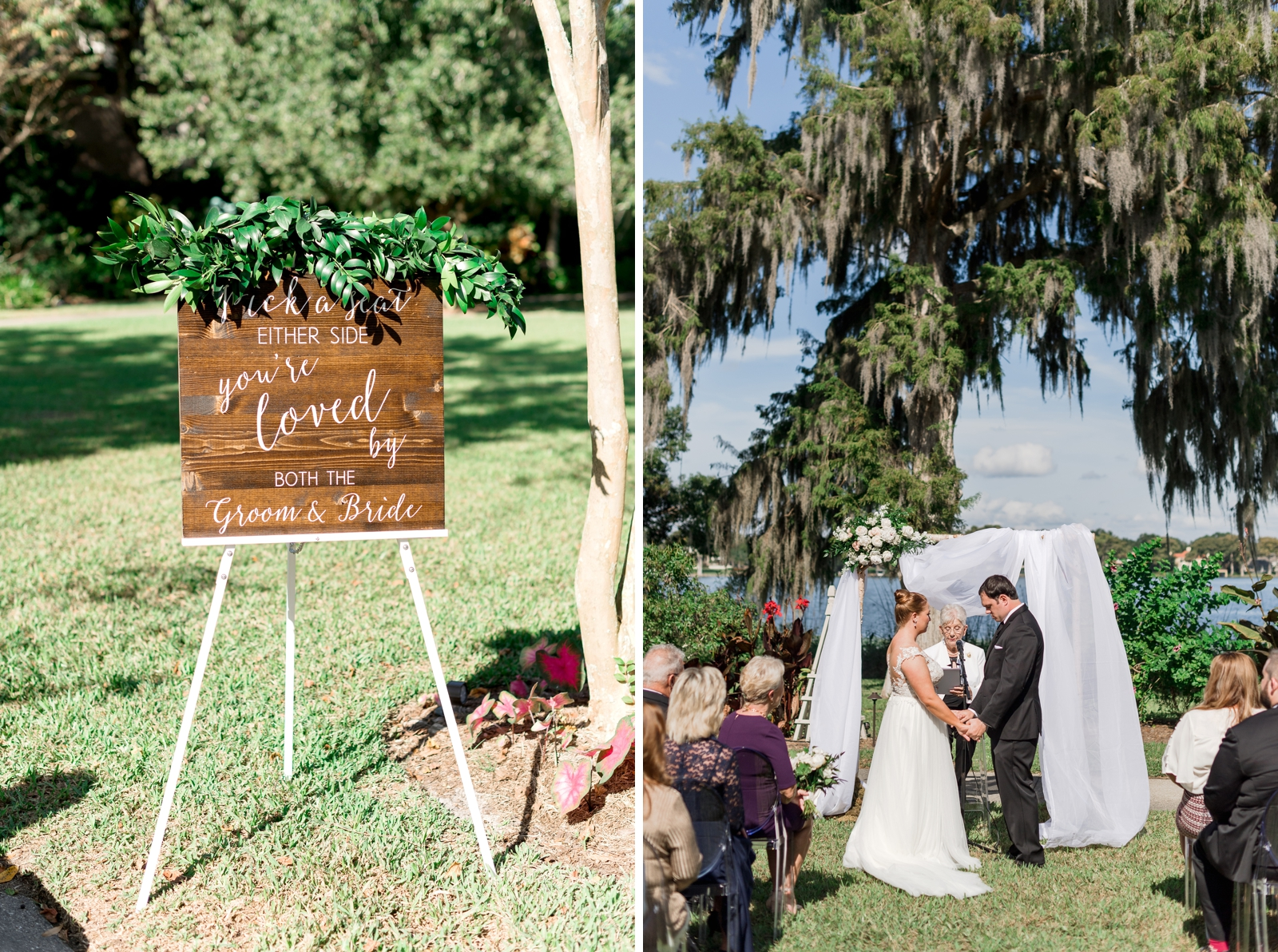 Bluegrass Chic - Ceremony Arch with Drape