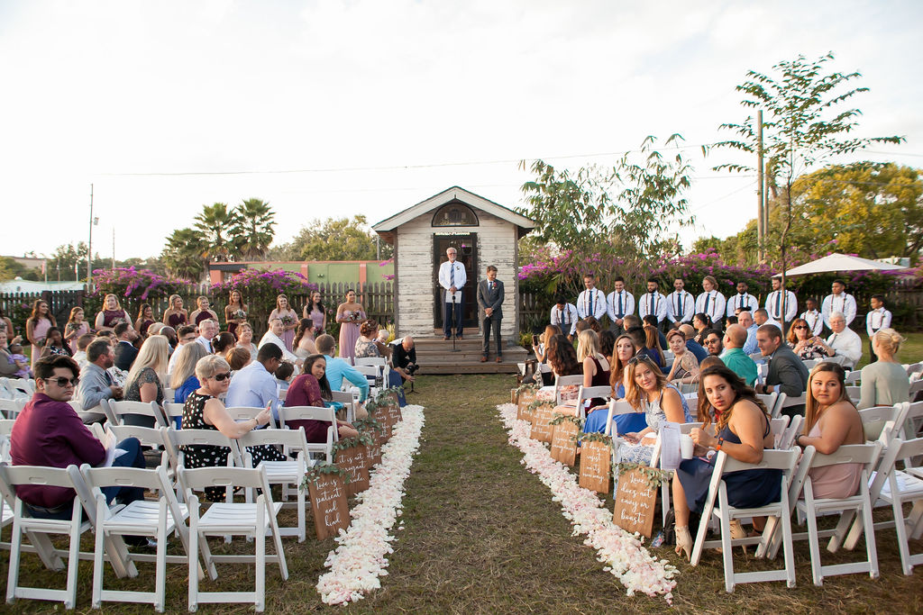 Bluegrass Chic - ceremony