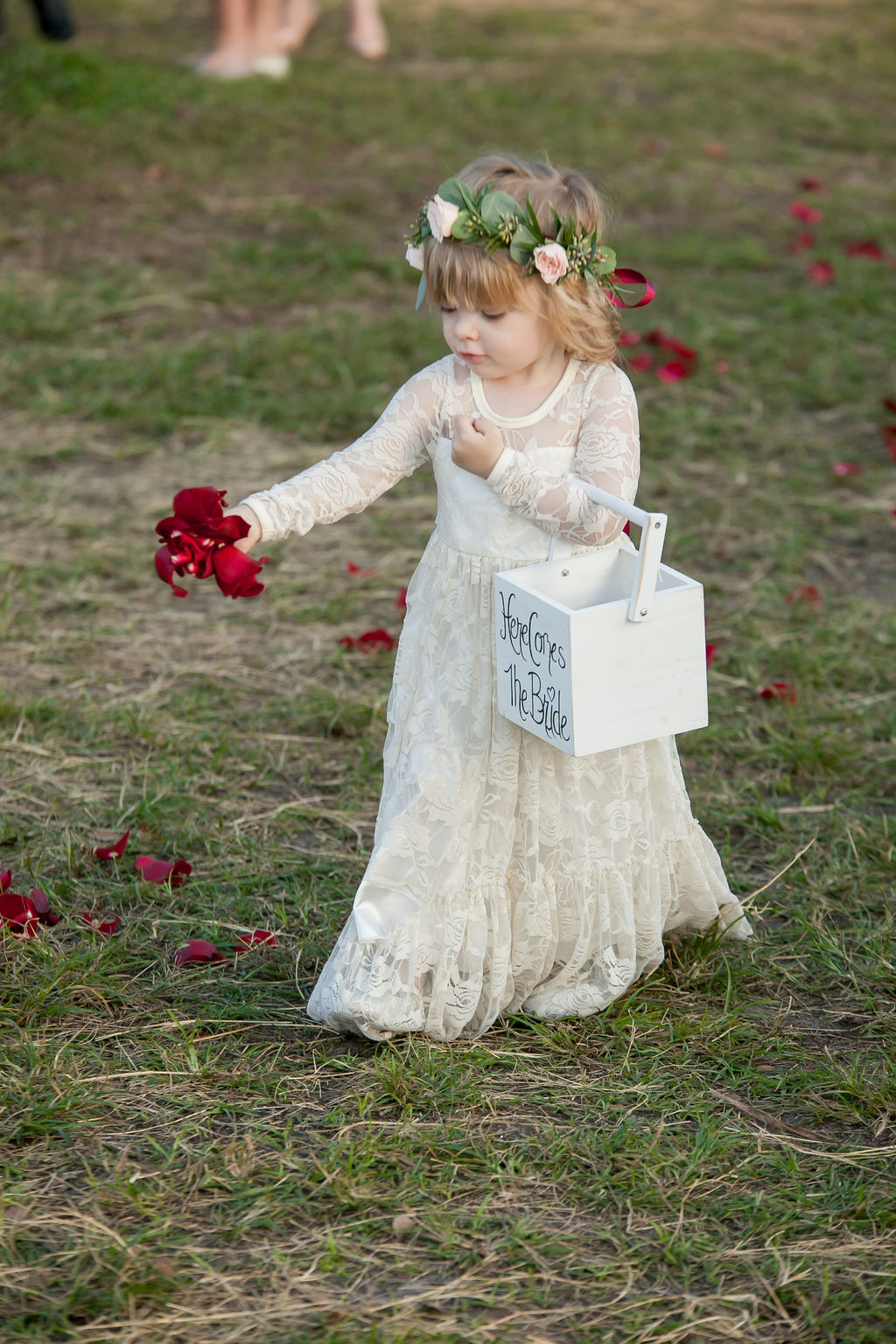 Bluegrass Chic - boho flower girl