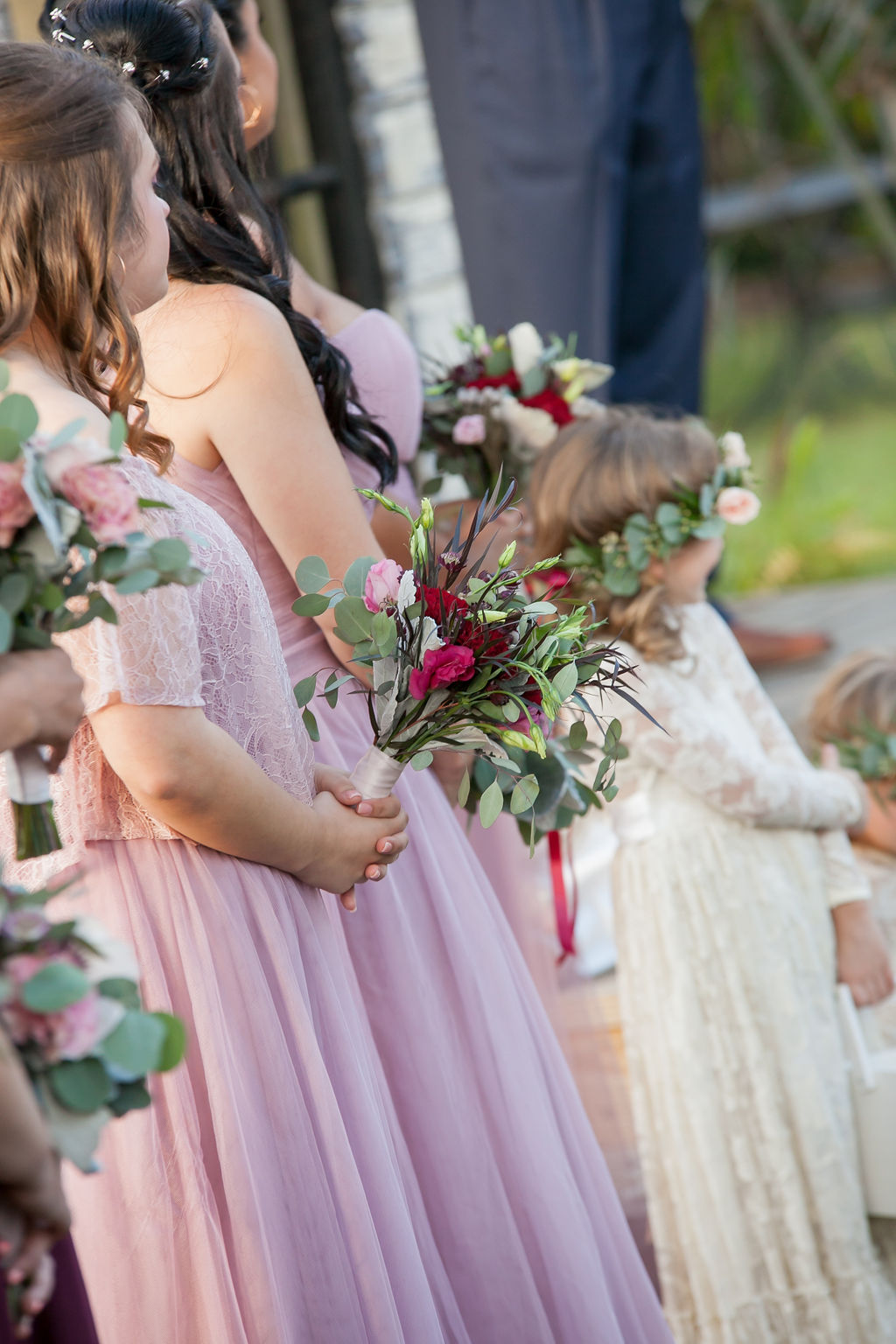 Bluegrass Chic - Bridesmaid bouquets
