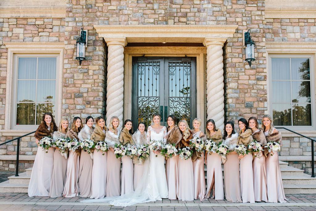 Bluegrass Chic - TPC Sawgrass wedding flowers