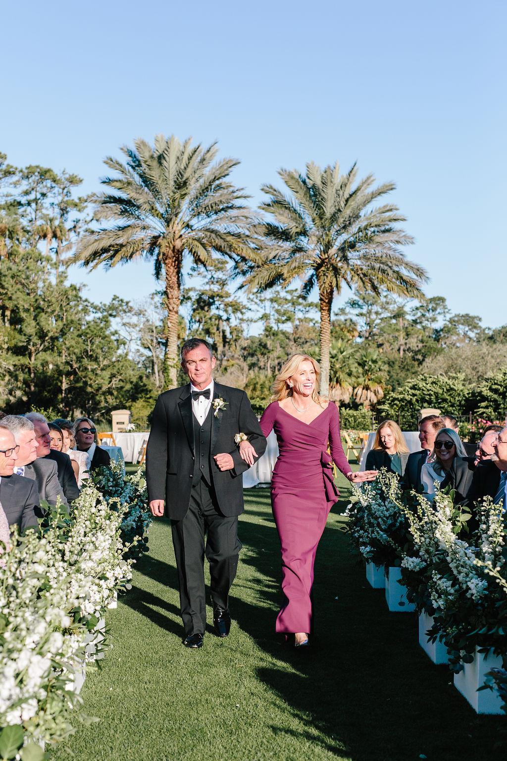 Bluegrass Chic - Wedding flowers TPC Sawgrass