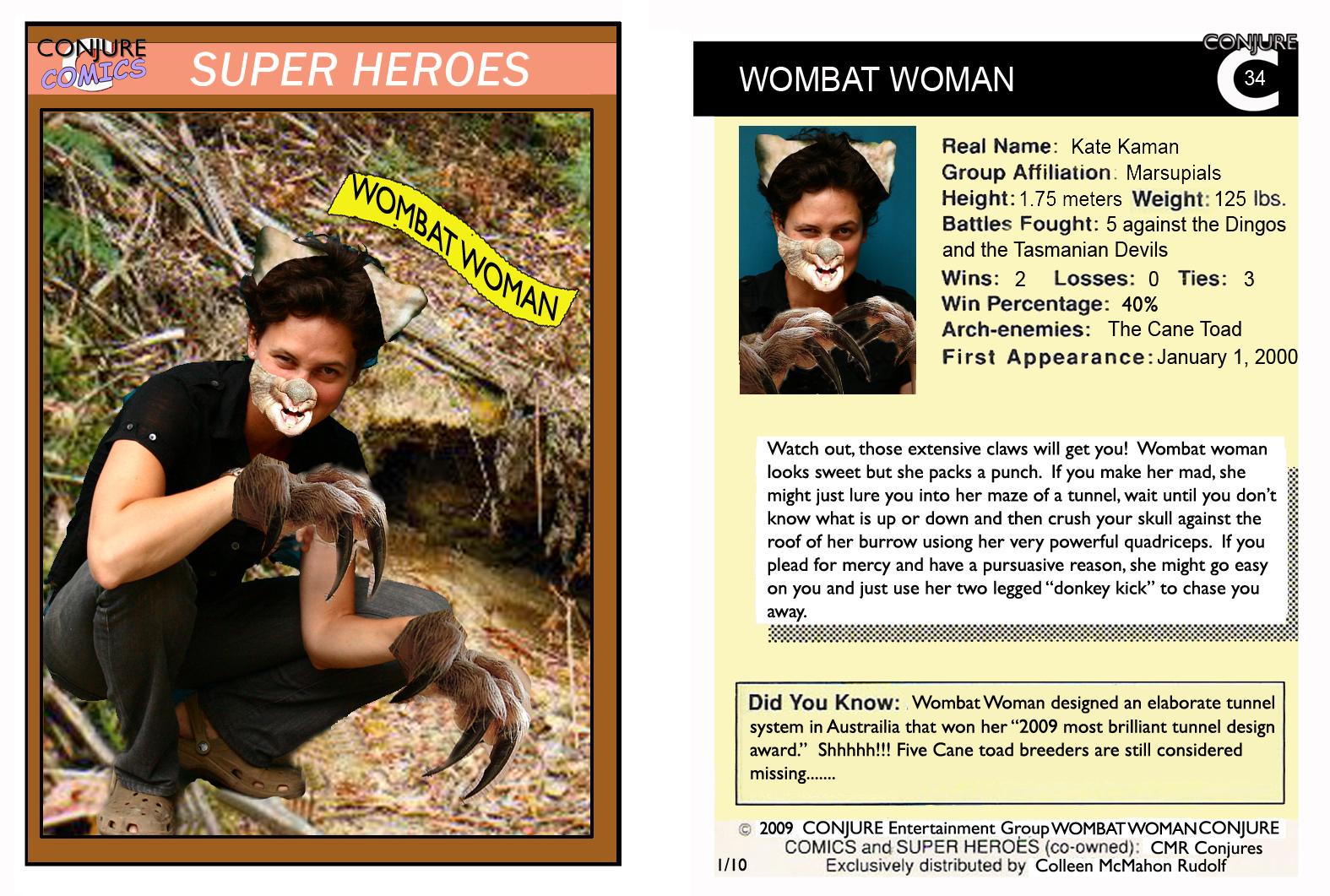 Wombat Woman
