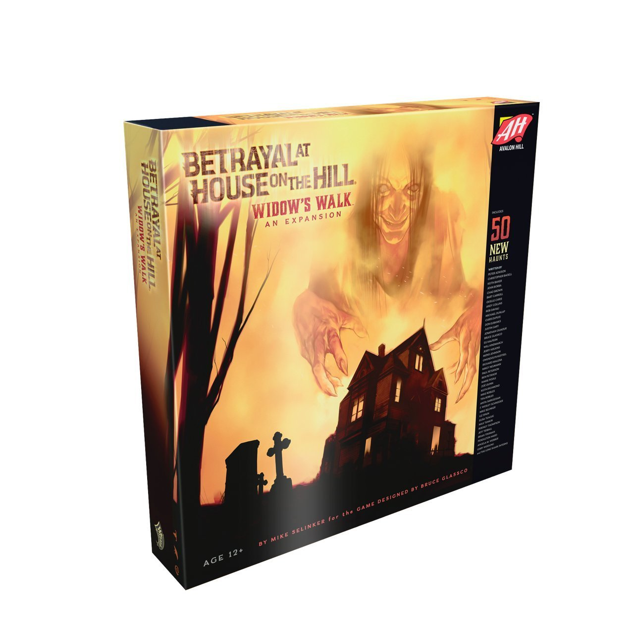 Betrayal At House on the Hill: Widow's Walk - I had the honor of writing a haunt for one of my favorite board games of all time, the board game that made me fall in love with board games again as an adult, Betrayal at House on the Hill. I was already extremely excited when I found out they were making an expansion - but being able to be a part of it alongside so many other talented writers was an amazing experience I'm proud of and thankful for.I hope players enjoy my haunt despite it uh... inadvertently being entirely too close to eerily predicting the present. Sometimes horror gets too real. Whoops.
