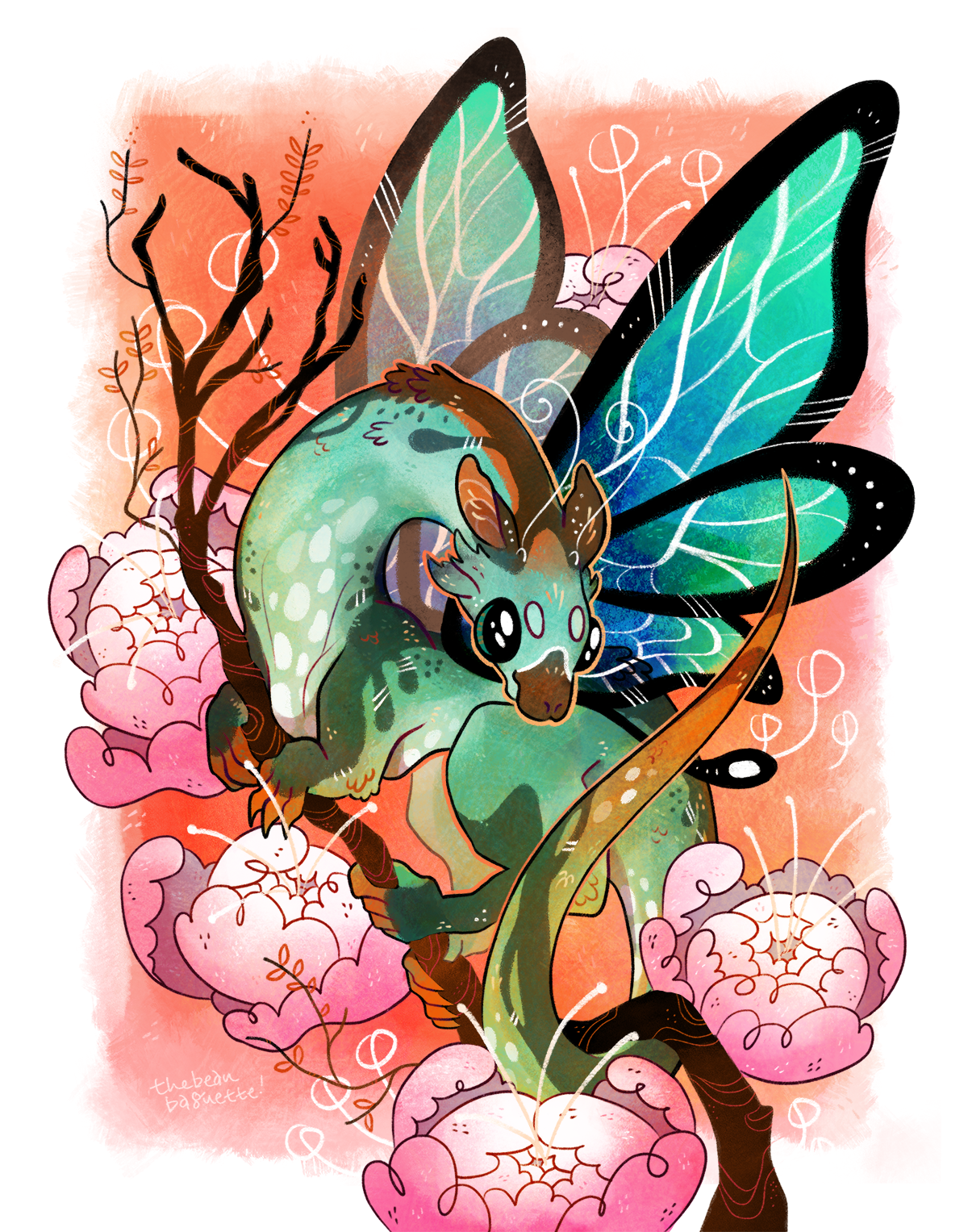 bbaguette butterfly 11x14 print ver.png