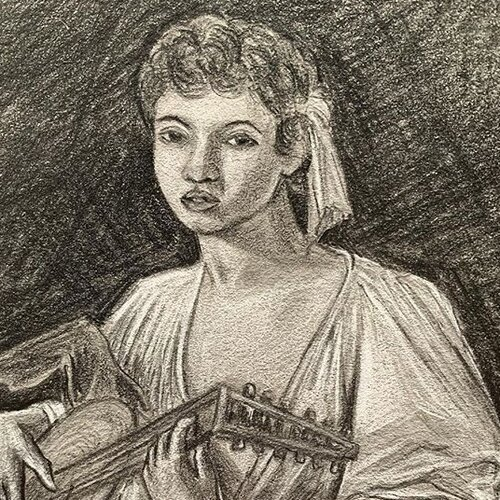 Artistic Study - A collection of copy sketches of paintings and sculptures