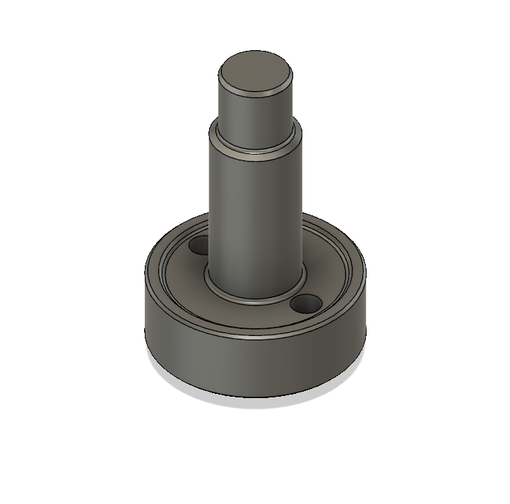 Threaded Stem Adapter - Downloadable CAD file to test fit with your Mosquito/Magnum Hotend. The actual item can be purchased here.