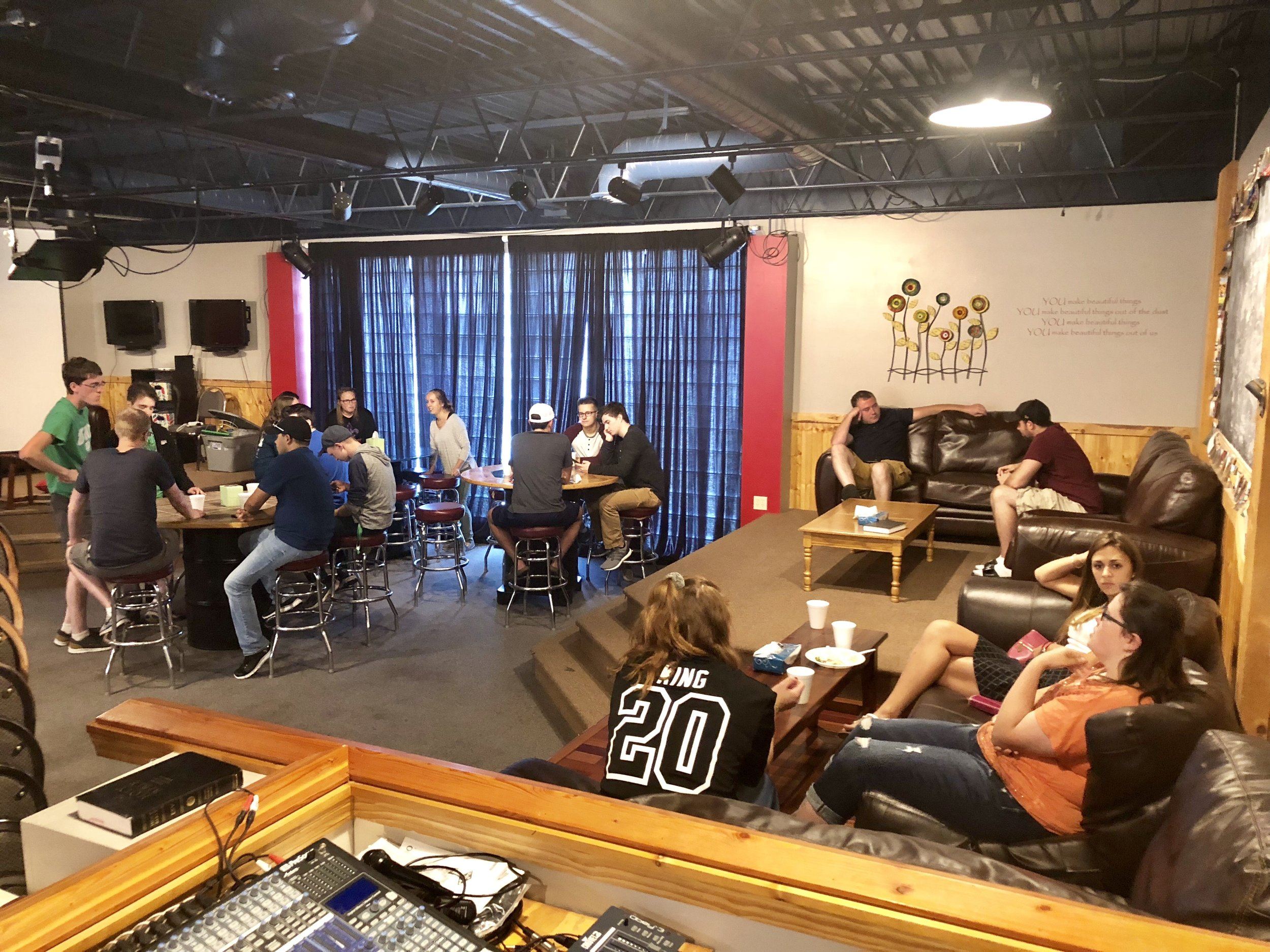 College Ministry The Garage Faith Evangelical Free Church