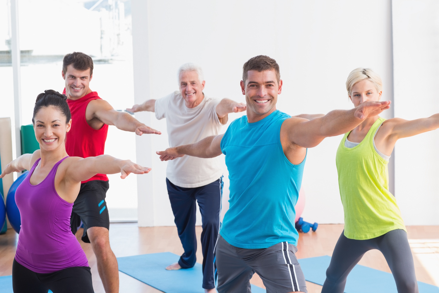 Yoga Class at Infinity Fitness in Falmouth, MA
