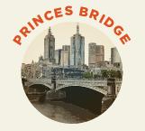 Princes Bridge was built in 1888, designed by John Grainger.